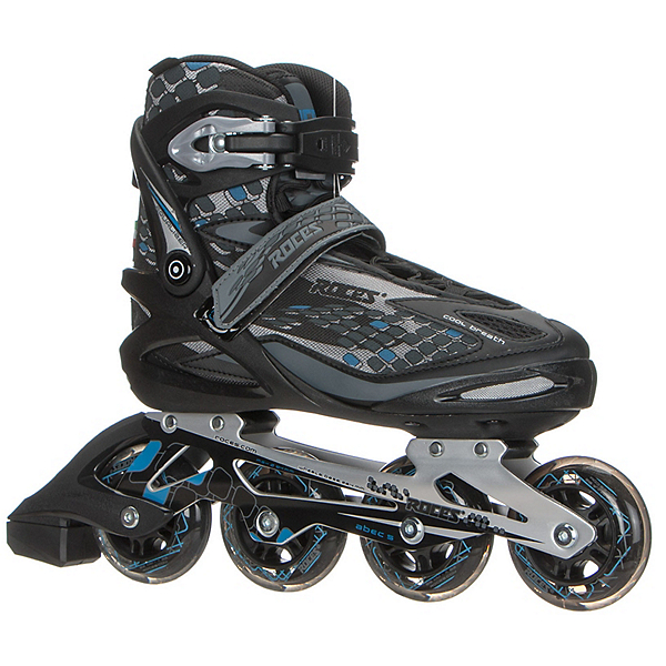 Roces Equalizer Inline Skates, Black-Blue, 600