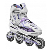 Roces Yris Womens Inline Skates, White-Lavendar, medium