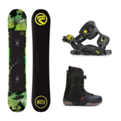 Flow Chill ABT Seem Complete Snowboard Package, , medium