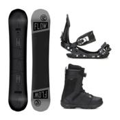 Flow Blackout ABT Jackson Boa Complete Snowboard Package, , medium