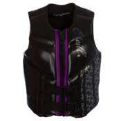 O'Neill Law USCG Womens Life Vest, Black-Ultraviolet, medium