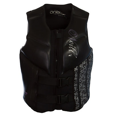 O'Neill Law USCG Womens Life Vest, Black-Black, viewer