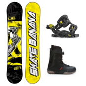 Lib Tech Skate Banana Seem Complete Snowboard Package, , medium