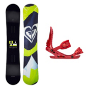 Roxy Eminence C2 BTX VXN Womens Snowboard and Binding Package, , medium