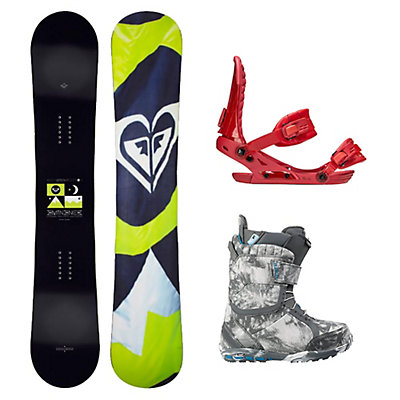 Roxy Eminence C2 BTX Axel Womens Complete Snowboard Package, , viewer