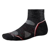 SmartWool PhD Outdoor Light Mini Mens Socks, Charcoal, medium