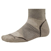 SmartWool PhD Outdoor Light Mini Mens Socks, Oatmeal, medium