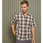 Purnell Lightweight Madras Plaid Shirt, , medium