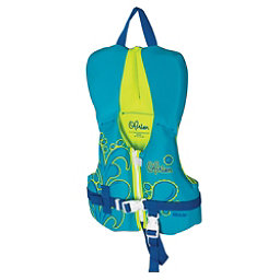 O'Brien Aqua Infant Infant Life Vest 2017, Aqua-Green, 256
