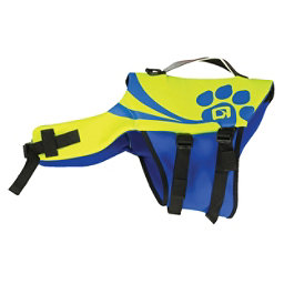 O'Brien Pet Vest 2017, Yellow-Blue, 256