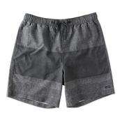 O'Neill Line Up Mens Bathing Suit, Dark Charcoal, medium