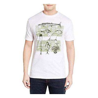 O'Neill Sterling Mens T-Shirt, White, viewer