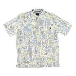 O'Neill Tropics Mens Shirt, Natural, 256