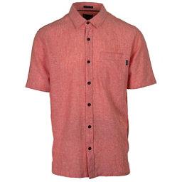 O'Neill Inlet Mens Shirt, Dark Coral, 256