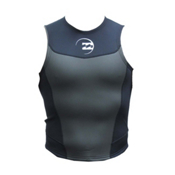 Billabong Foil 2mm Wetsuit Vest 2014, Blue, medium