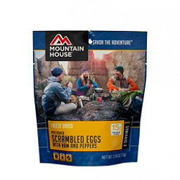 Mountain House Scrambled Eggs with Ham and Peppers, , 256