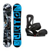 Burton Clash Custom Snowboard and Binding Package 2016, 151cm, medium