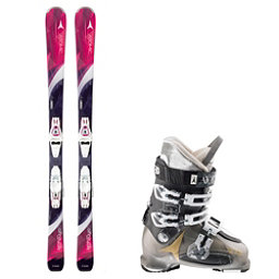 Atomic Affinity Pure, and Atomic Waymaker 70 Womens Ski Package, , 256