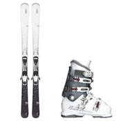 Elan Snow QT, and Nordica NXT N6 Womens Ski Package 2016, , medium