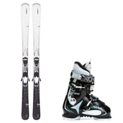 Elan Snow QT, and Atomic Live Fit 60 Womens Ski Package 2016, , medium