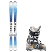 K2 Luv 75, and Atomic Waymaker 70 Womens Ski Package 2016, , medium