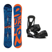 Burton Ripcord Freestyle Snowboard and Binding Package 2016, , medium