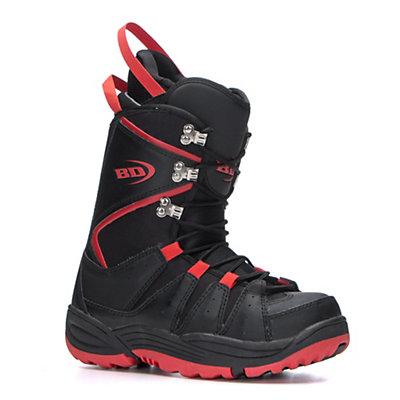 Black Dragon Basic Snowboard Boots, Black-Red, viewer