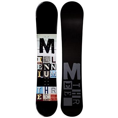 Millenium 3 Discord Black Snowboard, , viewer