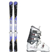 Rossignol Temptation 75, and Nordica NXT N6 Womens Ski Package 2016, , medium