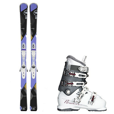 Rossignol Temptation 75, and Nordica NXT N6 Womens Ski Package, , viewer