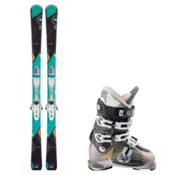 Rossignol Temptation 77, and Atomic Waymaker 70 Womens Ski Package 2016, , medium