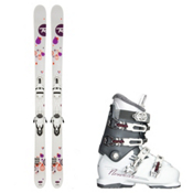 Rossignol Trixie, and Nordica NXT N6 Womens Ski Package 2016, , medium
