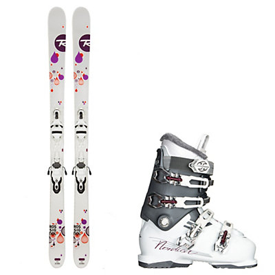 Rossignol Trixie, and Nordica NXT N6 Womens Ski Package, , viewer