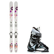 Rossignol Trixie, and Atomic Live Fit 60 Womens Ski Package 2016, , medium