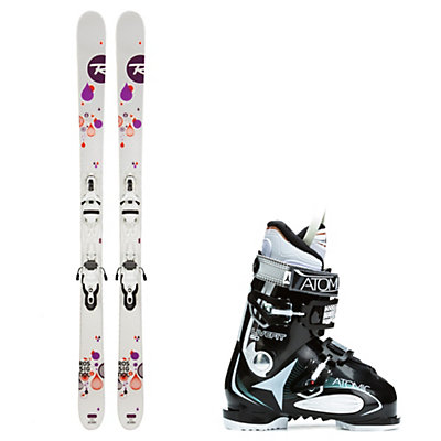 Rossignol Trixie, and Atomic Live Fit 60 Womens Ski Package, , viewer