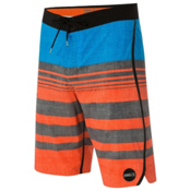 O'Neill Hyperfreak Knifing In Mens Board Shorts, Orange, medium