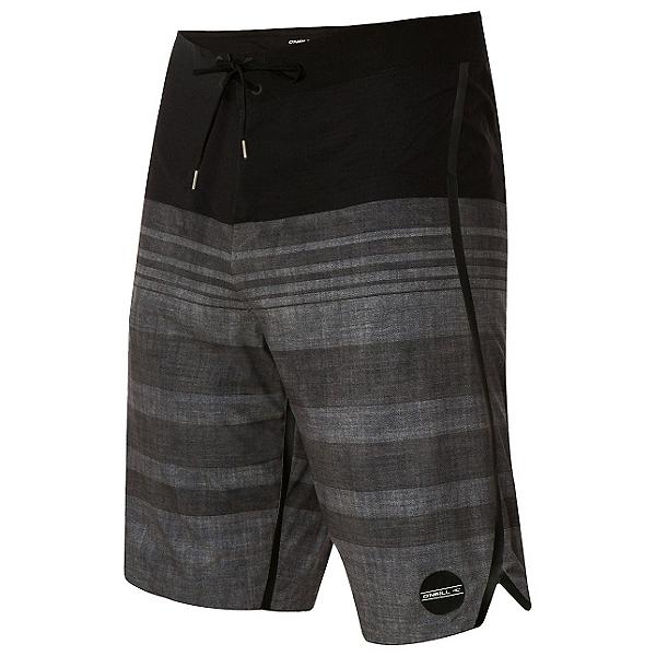 O'Neill Hyperfreak Knifing In Mens Board Shorts, Black, 600