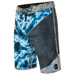 O'Neill Hyperfreak Mens Board Shorts, Bright Blue, 256