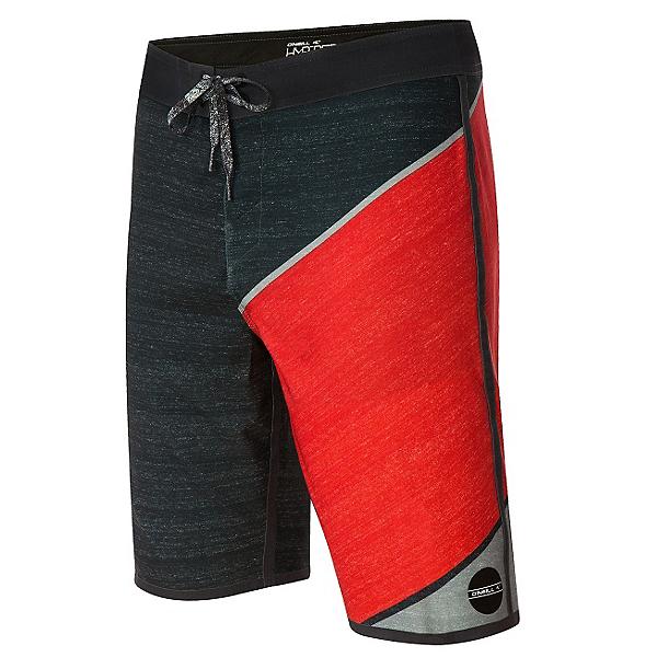 O'Neill Hyperfreak Mens Board Shorts, Cement, 600