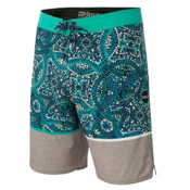 O'Neill Hyperfreak CANGGU Boardshorts, Grey, medium
