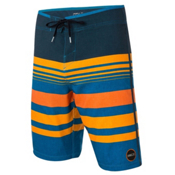 O'Neill Hyperfreak Heist Board Shorts, Orange, medium