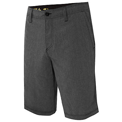 O'Neill Hybrid Freak Heather Mens Board Shorts, Black, viewer