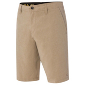 O'Neill Hybrid Freak Heather Board Shorts, Khaki, medium