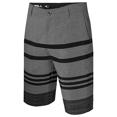 O'Neill Streaker Hybrid Boardshorts, Charcoal, viewer