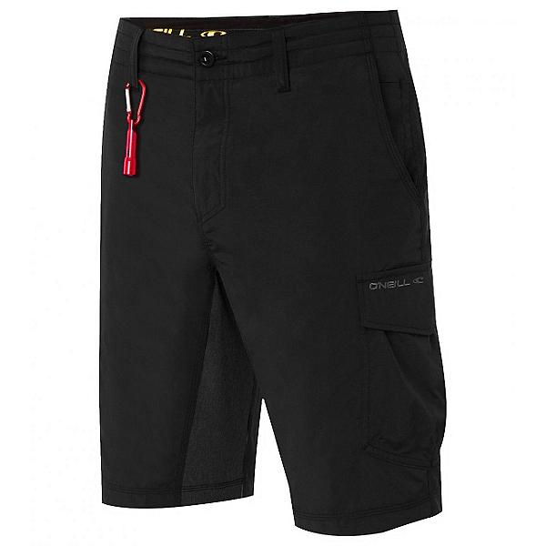 O'Neill Traveler Cargo Hybrid Mens Board Shorts, Black, 600