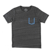O'Neill Hyperdry Frame Tee Mens T-Shirt, Dark Charcoal, medium