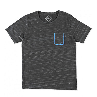 O'Neill Hyperdry Frame Tee Mens T-Shirt, Dark Charcoal, viewer
