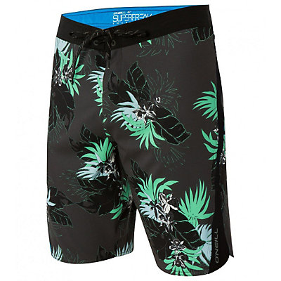 O'Neill Superfreak Quad Boardshorts, Asphalt, viewer