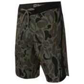 O'Neill Superfreak Quad Boardshorts, Dark Army, medium