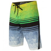 O'Neill Superfreak Diffusion Board Shorts, Green, medium